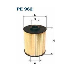 PE 962 F PE962 FILTR PALIWA MERCEDES C200CDI 220 E200CDI SZT FILTRY FILTRON [866109]...