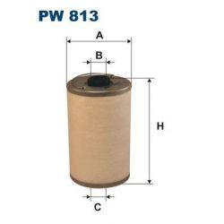 PW 813 F PW813 FILTR PALIWA MERCEDES 220D 115 240D W115 IVECO120 PA SZT FILTRY FILTRON [872524]...