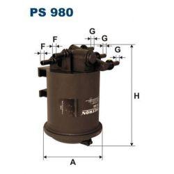 PS 980 F PS980 FILTR PALIWA RENAULT MASTER 2.2 DCI 00- SZT FILTRY FILTRON [880786]...