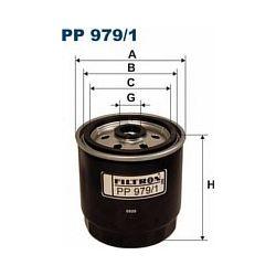 PP 979/1 F PP979/1 FILTR PALIWA HYUNDAI ACCENT II 02- ; SZT FILTRY FILTRON [898051]...