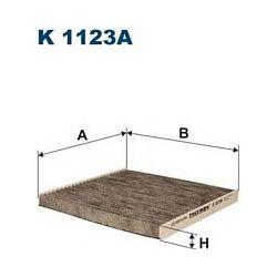 K 1123A F K1123A FILTR KABINOWY TOYOTA COROLLA 1.4/1.6/1.8 02 ; SZT FILTRY FILTRON [898267]...