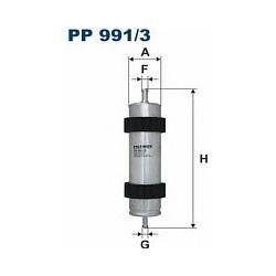 PP 991/3 F PP991/3 FILTR PALIWA AUDI A6/A7 2.0TDI/3.0TDI 11 ; SZT FILTRY FILTRON [904697]...