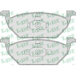 05P730 LPR 05P730 KLOCKI HAMULCOWE AUDI A3/ SEAT LEON/ TOLEDO/ VW BORA GR.19,8MM* LPR KLOCKI LPR [923955]...