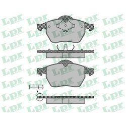 05P639 LPR 05P639 KLOCKI HAMULCOWE VW GOLF III 2.0I GTI 2.8I VR6/ BORA/ AUDI A3/ SEAT LEON GR.19,5MM* LPR KLOCKI LPR [924015]...