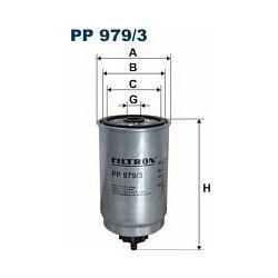 PP 979/3 F PP979/3 FILTR PALIWA HYUNDAI ACCENT III 1,5 06 - SZT FILTRY FILTRON [926475]...