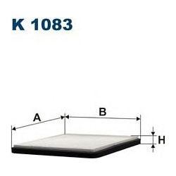 K 1083 F K1083 FILTR KABINOWY TOYOTA YARIS - WSZYSTKIE MODELE FILTRY FILTRON [936103]...