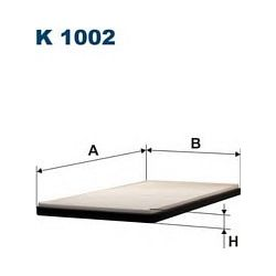 K 1002 F K1002 FILTR KABINOWY OPEL CORSA B TIGRA FILTRY FILTRON [941594]...