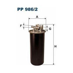 PP986/2 F PP986/2 FILTR PALIWA AUDI A6 2.7 TDI V6 04 SZT FILTRY FILTRON [948100]...