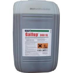 GALLUP 360 SL 20L jak Roundup niszczy chwasty...