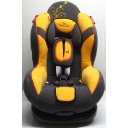 Eurobaby BabyShield Fotelik 9-25kg Girl Żółty