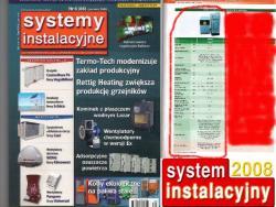 Kocioł Skam-p Premium BRUCER w gazecie Systemy Instalacyjne