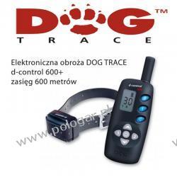 Elektroniczna obroża DOG TRACE d-control 600+ dla wszystkich ras (lepszy pasek i walizka)