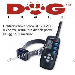 Elektroniczna obroża DOG TRACE d-control 1600+ dla wszystkich ras (lepszy pasek i walizka)