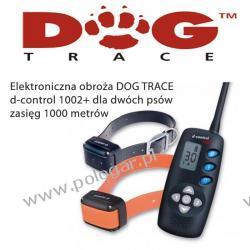 Elektroniczna obroża DOG TRACE d-control 1002+ dla dwóch Psów (lepszy pasek i walizka)