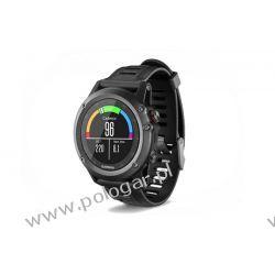 Garmin Fenix 3 Grey  kolor: szary z czarnym paskiem w zestawie: zegarek i czujnik tętna hrm run