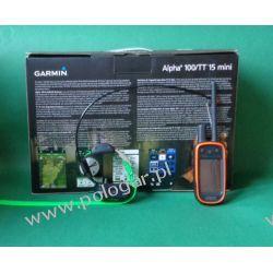 Garmin Alpha 100 z obrożą TT15 Mini   śledzenie + sygnalizacja świetlna + Funkcja szkolenia