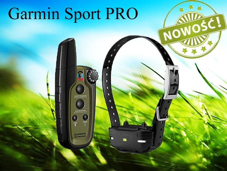 obroża elektryczna Garmin Sport PRO