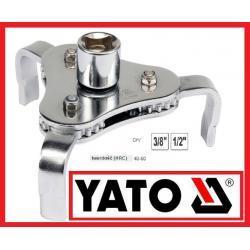 Klucz do filtra oleju 63-120mm - trójramienny YATO