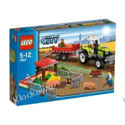 7684 HODOWLA ŚWINEK I TRAKTOR KLOCKI LEGO CITY