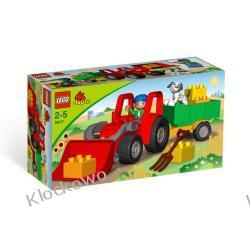 5647 DUŻY TRAKTOR KLOCKI LEGO DUPLO