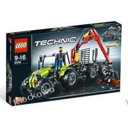 8049 TRAKTOR Z ŁADOWARKĄ KŁÓD KLOCKI LEGO TECHNIC