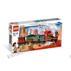 7597 POŚCIG ZA POCIĄGIEM NA DZIKIM ZACHODZIE KLOCKI LEGO TOY STORY