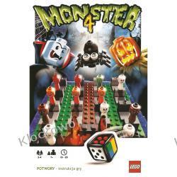 3837 4 POTWORY (4 MONSTER) KLOCKI LEGO GRA PLANSZOWA