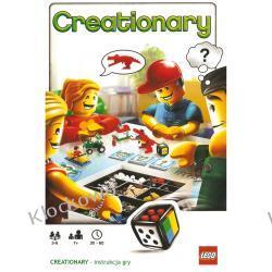 3844 KREATYWNOŚĆ (CREATIONARY) KLOCKI LEGO GRA PLANSZOWA