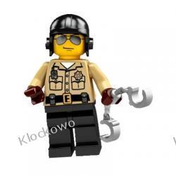 8684 POLICJANT Z DROGÓWKI KLOCKI LEGO MINIFIGURKI