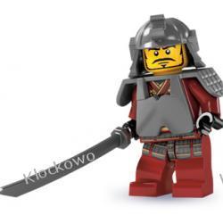 8803 SAMURAJ KLOCKI LEGO MINIFIGURKI