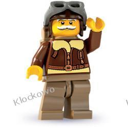 8803 PILOT KLOCKI LEGO MINIFIGURKI