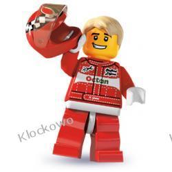 8803 KIEROWCA WYŚCIGOWY KLOCKI LEGO MINIFIGURKI
