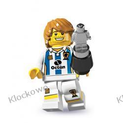 8804 Piłkarz Soccer Player Klocki Lego Minifigurki Lego