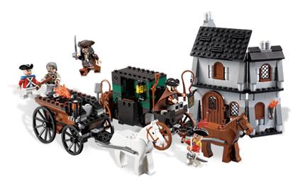 4193 Ucieczka Z Londynu Klocki Lego Pirates Of The Caribbean
