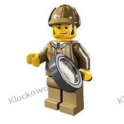 8805 DETEKTYW (Detective with magnifying glass) KLOCKI LEGO MINIFIGURKI