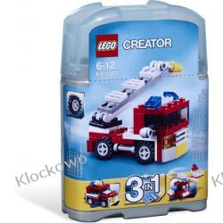 6911 MAŁY WÓZ STRAŻACKI (Mini Fire Truck) KLOCKI LEGO CREATOR 3 W 1 Straż