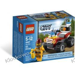 4427 ŁAZIK STRAŻACKI (Fire ATV) KLOCKI LEGO CITY