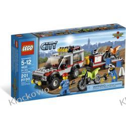 4433 TRANSPORTER MOTOCYKLI (Dirt Bike Transporter) KLOCKI LEGO CITY
