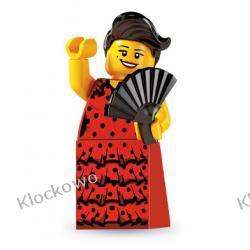 8827 - TANCERKA FLAMENCO (Flamenco Dancer) - KLOCKI LEGO MINIFIGURKI