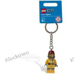 853375  BRELOK Z FIGURKĄ STRAŻAKA (Firefigher Key Chain) LEGO CITY