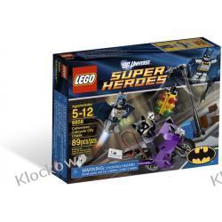 6858 UCIECZKA KOBIETY KOT (Catwoman Catcycle City Chase)- KLOCKI LEGO BATMAN