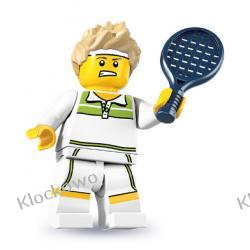 8831 - TENISISTA  (Tennis Ace) - 7 SERIA- KLOCKI LEGO MINIFIGURKI