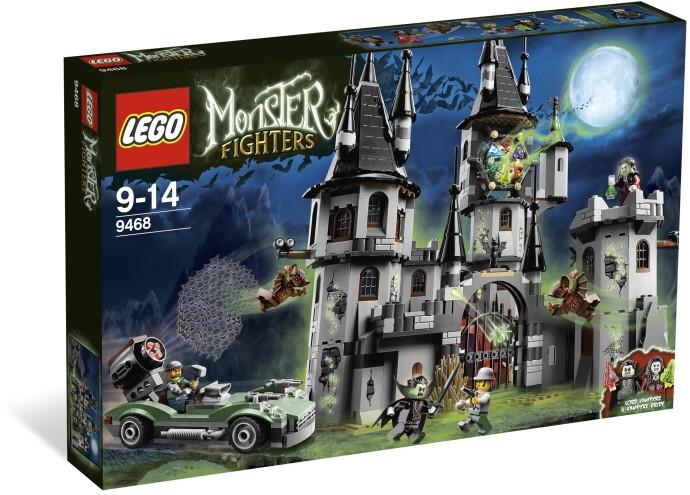 9468 Zamek Wampirów Vampyre Castle Klocki Lego Monster Fighters