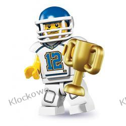 8833 AMERYKAŃSKI FOOTBALLISTA (Football Player) - KLOCKI LEGO MINIFIGURKI