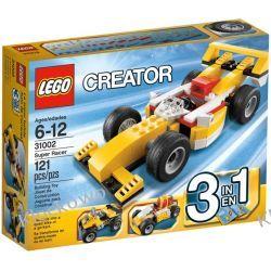 31002 SAMOCHÓD WYŚCIGOWY (Super Racer) KLOCKI LEGO CREATOR Straż