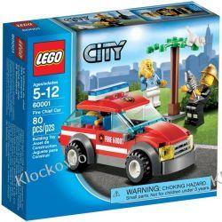 60001 SAMOCHÓD KOMENDANTA STRAŻY POŻARNEJ (Fire Chief Car) KLOCKI LEGO CITY Straż