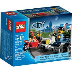 60006 QUAD POLICYJNY (Police ATV) KLOCKI LEGO CITY