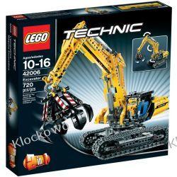 42006 KOPARKA (Excavator) KLOCKI LEGO TECHNIC Straż