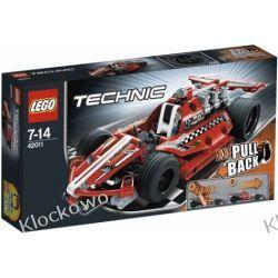 42011 SAMOCHÓD WYŚCIGOWY (Race car) KLOCKI LEGO TECHNIC Straż