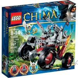 70004 WILCZY POJAZD WAKZA (Wakz' Pack Attack) KLOCKI LEGO LEGENDS OF CHIMA Straż